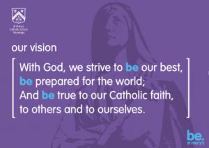 Vision, St Mary's Catholic School Tauranga